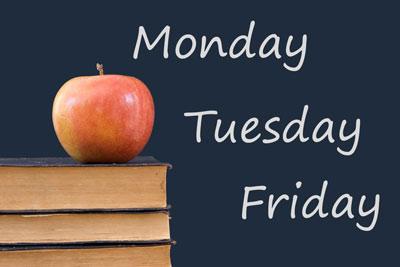 дни недели на английском языке с произношением для детей